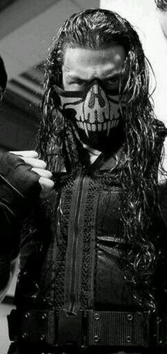 You rock that mask well Roman!!!