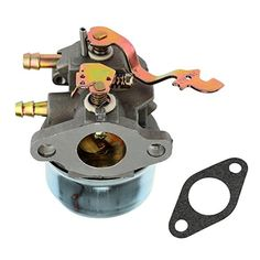 Snow Blower Replacement Parts - FitBest Carburetor wGasket for Tecumseh 640305 640340 640346 640306A 640222A 640060A Fits OH195EA OHH50 OHH55 OHH60 OHH65 *** Check out the image by visiting the link. (This is an Amazon affiliate link)