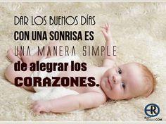 Buenos Días..!! que tengas un lindo día.. Lo mejor para ti..     -   #BuenosDias #Sonrisa #Alegria #EloyRomero