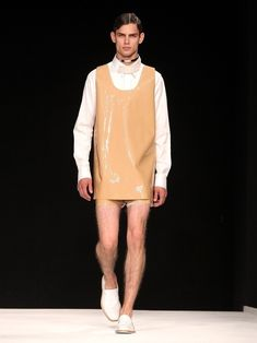 """If your dress feels """"too short"""" just wear shorts of the same fabric underneath."""