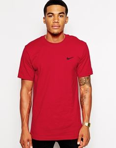 Nike T-Shirt with Embroidered Swoosh