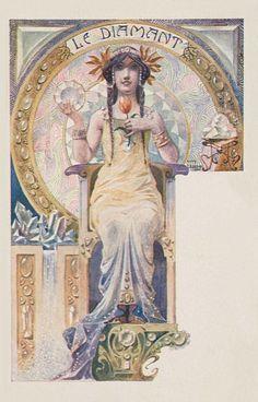Les Pierres Precieuses by Ernest Louis Lessieux, c. 1901