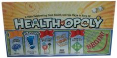 Health-Opoly Board Game - http://yourpego.com/health-opoly-board-game/?utm_source=PN&utm_medium=http%3A%2F%2Fwww.pinterest.com%2Fpin%2F368450813235896433&utm_campaign=SNAP%2Bfrom%2BHealth+Guide
