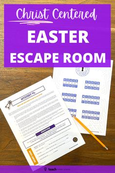 Kids Sunday School Lessons, Sunday School Activities, Bible Lessons For Kids, Youth Activities, Easter Activities, Activity Day Girls, Activity Days, Escape Room For Kids, Resurrection Day