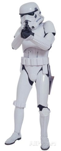 Star Wars - Storm Trooper (scale 1) Vinilos decorativos