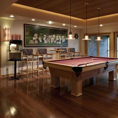 Pool Table Room Design, Pictures, Remodel, Decor and Ideas - page 6