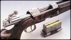 Szecsei & Fuchs Double Barrel Bolt Action Rifle