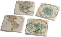 Global Coasters - Set of 4