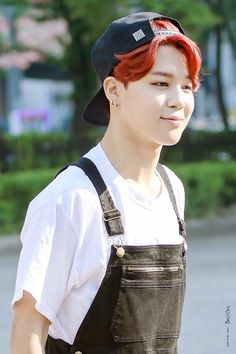 Red hair - JIMIN