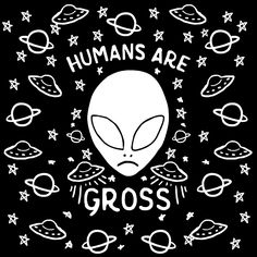 Imagen de alien, black and white, and gif Les Aliens, Aliens And Ufos, Aliens Funny, Arte Alien, Alien Art, Alien Tumblr, Alien Aesthetic, Aesthetic Art, Aesthetic Drawing