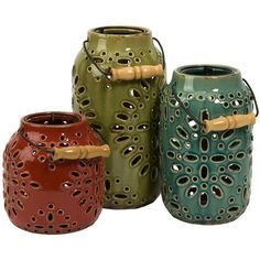 I pinned this 3 Piece Adana Lantern Set from the Home & Hearth event at Joss and Main!