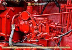 Traktoren Oldtimer - Teile des Ganzen - CALVENDO Kalender von Peter Roder