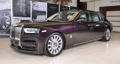 New Rolls-Royce Phantom EWB Looks Right At Home In Abu Dhabi