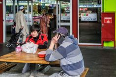 Strangers at a Table Melbourne August 2014