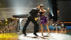Jasmine and Aaron perform a Samba routine choreographed by Dmitry Chaplin.
