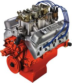 Mopar Performance 410ci SIX PACK Crate Engine - I want one!