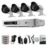 XVIM 4CH 720p HDMI Outdoor Indoor Day Night IR-CUT Motion Detection Push Alerts Home Video Surveillance Security Camera System Hard Drive Not Included - http://homedefensesecurity.com/xvim-4ch-720p-hdmi-outdoor-indoor-day-night-ir-cut-motion-detection-push-alerts-home-video-surveillance-security-camera-system-hard-drive-not-included/