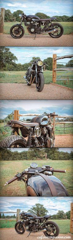 Honda CB750 Cafe Racer E Bolex mk4 #motorcycles #caferacer #motos | caferacerpasion.com