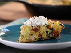Get Frittata di Pane (Bread Frittata) with Broccoli Rabe, Sausage and Ricotta Recipe from Cooking Channel
