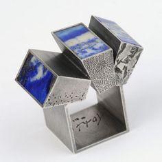 Helfried Kodré   ring, silver, lapislazuli