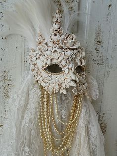 Reserved mask do not purchase ornate art mask by AnitaSperoDesign