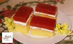 Hozzávalók: 4 egész tojás 20 dkg porcukor 1 dl tej 1 dl étolaj 20 dkg liszt 1 tasak sütőpor  Tetejére:  6 dl víz 2 csg vaníliás puding 15...