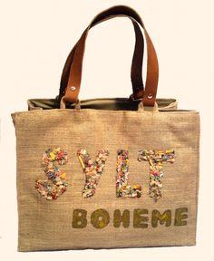 """""""Sylt Boheme Kaki"""" Beach bags www.sylt-boheme.de"""