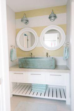 House of Turquoise: Design Loves Detail bathroom