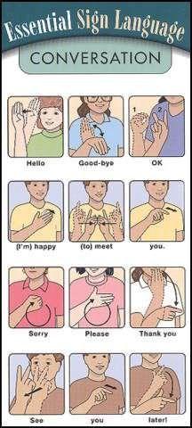 Conversation Essential Sign Language | Main photo (Cover)