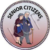 Senior Citizens, Silver Award Pin