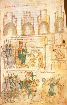 Castles of Sicily. / The Emperor Henry VI in Favara receives ambassadors of…