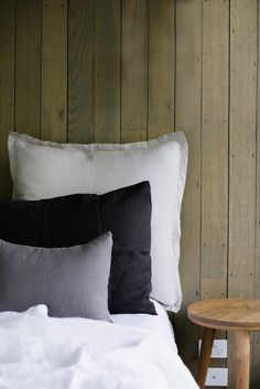 SET OF 2 LINEN EURO PILLOWCASES - $80
