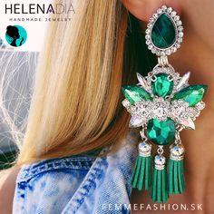 I Love Jewelry, Statement Jewelry, Diy Jewelry, Jewlery, Jewelry Accessories, Fashion Jewelry, Diy Body Chain, Rhinestone Earrings, Drop Earrings