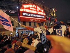 Nobody alive remembers the Cubs last World Series win in 1908 — it has to be taken on faith.