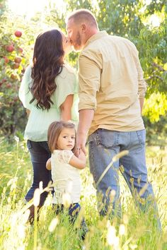 Lovely Family Photo Ideas... I guess I like the thought we can still love each other!