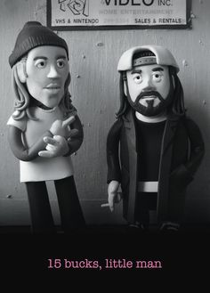 Greeting card inspired by Kevin Smith's cult film, Clerks.Blank inside and comes with a plain white envelopeThe card measures 105mm x 148mm and is printed on thick 16pt, FSC credited pa...