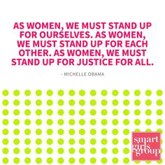 We must stand up for ourselves