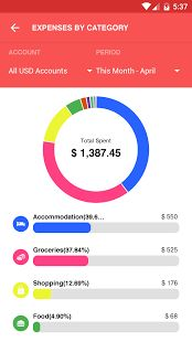 Expense IQ (formerly EasyMoney) is your ultimate money manager app that combines an expense tracker, a budget planner, a checkbook register as well as an integrated bills reminder all rolled into one powerful personal finance app!