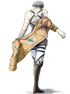 Nothing is as sexy as a man putting his jacket on. Levi