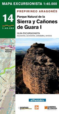 PARQUE NATURAL DE LA SIERRA Y CAÑONES DE GUARA I: MAPA EXRCURSIONISTA: 1:40.000: EXCURSIONES, ASCENSIONES, ACTIVIDADES Y SERVICIOS. Ballarín, Óscar. Mapa y guía excursionista de los Pirineos Aragonés del parque natural de la Sierra y Cañones de Guara, de escala 1:40.000. Incluye excursiones, paseos ascensiones, actividades y servicios. El mapa viene acompañado con una pequeña guía de 48 páginas.