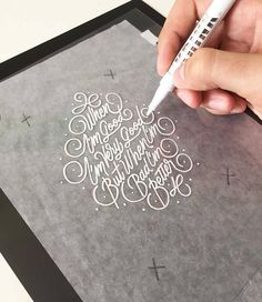 Lettering & Calligraphy Inspiration | #1297
