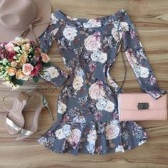 Pair with ruffles, bows, stockings, cute feminine shoes and BAM! Dress Outfits, Casual Dresses, Cool Outfits, Short Dresses, Casual Outfits, Dress Up, Fashion Dresses, Pretty Dresses, Casual Looks