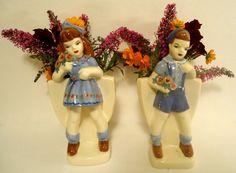 Vintage PlanterWeil Ware California Pottery by eveningredness
