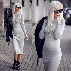 Get this look: http://lb.nu/look/7906410  More looks by Oksana Orehhova: http://lb.nu/oksiger  Items in this look:  Sheinside Dress   #casual #minimal #street