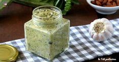 Crema di zucchine basilico e mandorle Pane Tostato, Brunch, Antipasto, Mousse, Fruit, Biscotti, Feta, Recipies, Bread