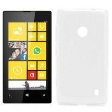 Housse Nokia Lumia 520 MiniGel Glossy Blanc 4,99 €