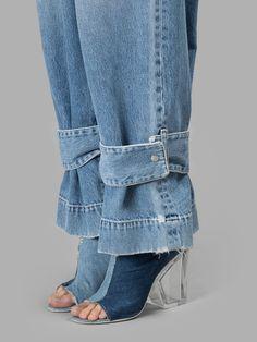 New Diy Fashion Pants Shoes Ideas Fashion Details, Look Fashion, Womens Fashion, Fashion Design, Fashion Trends, Fall Fashion, Denim Ideas, Denim Trends, Denim Fashion
