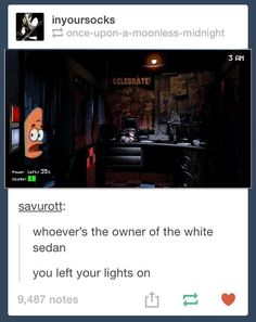 Patrick in Five Nights At Freddy's