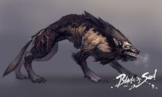 Blade & Soul / Monster Design