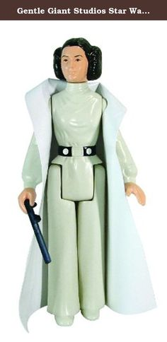 """Gentle Giant Studios Star Wars: Kenner Princess Leia 12"""" Action Figure. Just like they were when you were a kid, only BIGGER. Gentle Giant is proud to bring you their new line of vintage Kenner inspired Star Wars Action figure reproductions with the release of this classic Star Wars character, Princess Leia. Portrayed by actress Carrie Fisher, Leia remains a prominent and favorite female character to both men and women worldwide. Digitally scanned from mint 3 3/4"""" Kenner originals and..."""